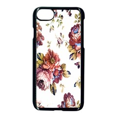 Texture Pattern Fabric Design Apple Iphone 7 Seamless Case (black) by BangZart
