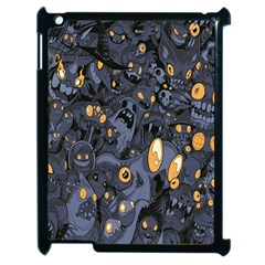 Monster Cover Pattern Apple Ipad 2 Case (black) by BangZart