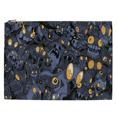 Monster Cover Pattern Cosmetic Bag (xxl)  by BangZart
