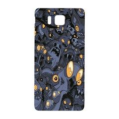 Monster Cover Pattern Samsung Galaxy Alpha Hardshell Back Case by BangZart