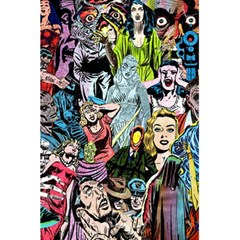Vintage Horror Collage Pattern 5 5  X 8 5  Notebooks by BangZart
