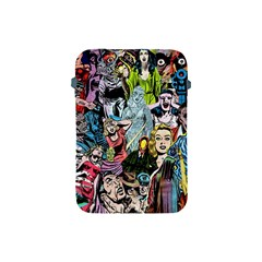 Vintage Horror Collage Pattern Apple Ipad Mini Protective Soft Cases by BangZart
