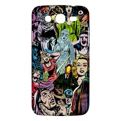 Vintage Horror Collage Pattern Samsung Galaxy Mega 5 8 I9152 Hardshell Case  by BangZart