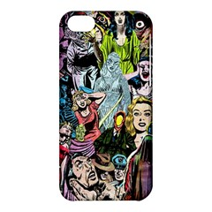 Vintage Horror Collage Pattern Apple Iphone 5c Hardshell Case by BangZart