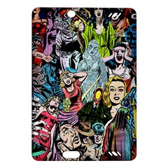 Vintage Horror Collage Pattern Amazon Kindle Fire Hd (2013) Hardshell Case by BangZart