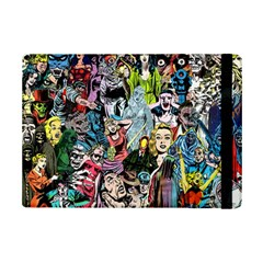 Vintage Horror Collage Pattern Ipad Mini 2 Flip Cases by BangZart
