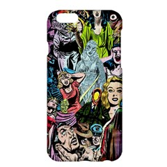 Vintage Horror Collage Pattern Apple Iphone 6 Plus/6s Plus Hardshell Case by BangZart