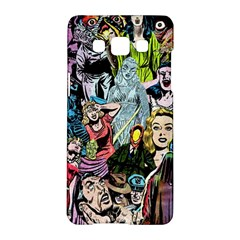 Vintage Horror Collage Pattern Samsung Galaxy A5 Hardshell Case  by BangZart