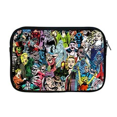 Vintage Horror Collage Pattern Apple Macbook Pro 17  Zipper Case by BangZart