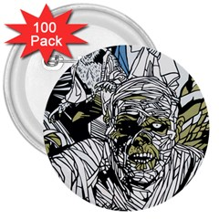 The Monster Squad 3  Buttons (100 Pack)  by BangZart