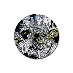 The Monster Squad Rubber Coaster (round)  by BangZart