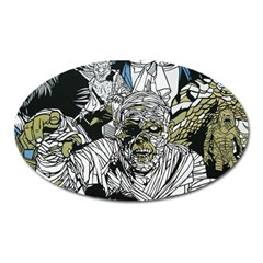 The Monster Squad Oval Magnet by BangZart