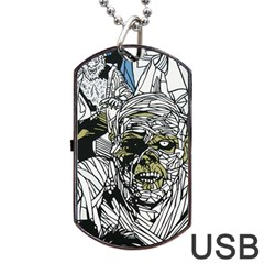 The Monster Squad Dog Tag Usb Flash (one Side) by BangZart