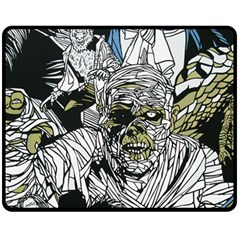 The Monster Squad Double Sided Fleece Blanket (medium)  by BangZart