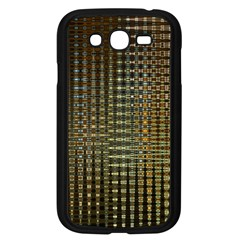 Background Colors Of Green And Gold In A Wave Form Samsung Galaxy Grand Duos I9082 Case (black) by BangZart