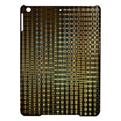 Background Colors Of Green And Gold In A Wave Form Ipad Air Hardshell Cases by BangZart