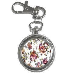 Texture Pattern Fabric Design Key Chain Watches by BangZart