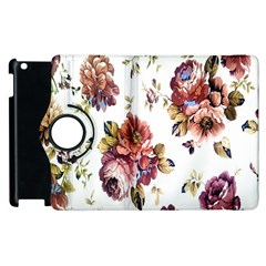 Texture Pattern Fabric Design Apple Ipad 3/4 Flip 360 Case by BangZart