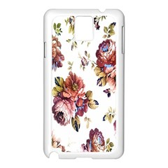 Texture Pattern Fabric Design Samsung Galaxy Note 3 N9005 Case (white) by BangZart