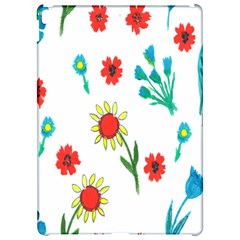 Flowers Fabric Design Apple Ipad Pro 12 9   Hardshell Case by BangZart
