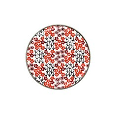 Simple Japanese Patterns Hat Clip Ball Marker (4 Pack) by BangZart