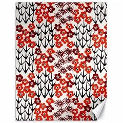 Simple Japanese Patterns Canvas 18  X 24   by BangZart