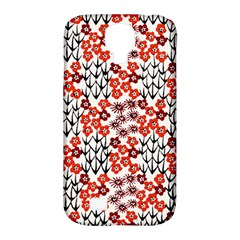 Simple Japanese Patterns Samsung Galaxy S4 Classic Hardshell Case (pc+silicone) by BangZart