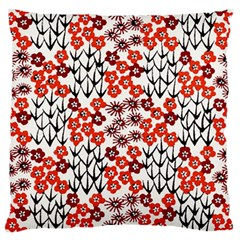 Simple Japanese Patterns Standard Flano Cushion Case (one Side) by BangZart