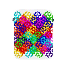 3d Fsm Tessellation Pattern Apple Ipad 2/3/4 Protective Soft Cases by BangZart