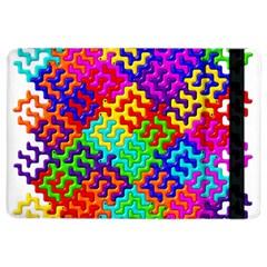3d Fsm Tessellation Pattern Ipad Air 2 Flip by BangZart
