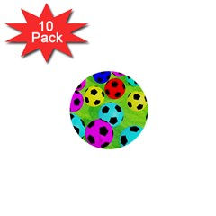Balls Colors 1  Mini Buttons (10 Pack)  by BangZart