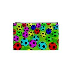 Balls Colors Cosmetic Bag (small)  by BangZart
