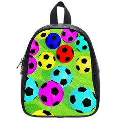 Balls Colors School Bags (small)  by BangZart