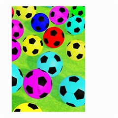 Balls Colors Small Garden Flag (two Sides) by BangZart