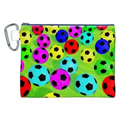 Balls Colors Canvas Cosmetic Bag (xxl) by BangZart