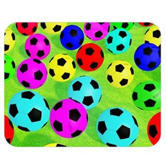 Balls Colors Double Sided Flano Blanket (medium)  by BangZart