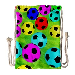 Balls Colors Drawstring Bag (large) by BangZart