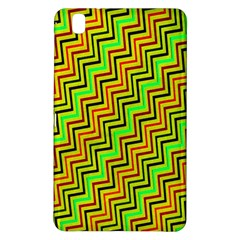 Green Red Brown Zig Zag Background Samsung Galaxy Tab Pro 8 4 Hardshell Case by BangZart