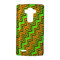 Green Red Brown Zig Zag Background Lg G4 Hardshell Case by BangZart