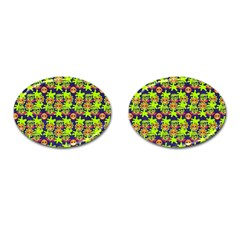 Smiley Monster Cufflinks (oval) by BangZart