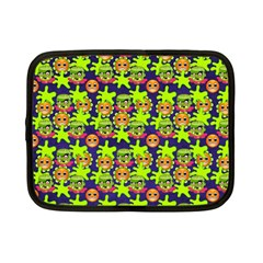 Smiley Monster Netbook Case (small)  by BangZart