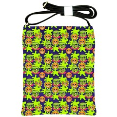 Smiley Monster Shoulder Sling Bags by BangZart
