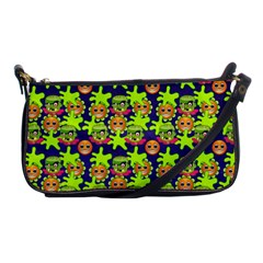 Smiley Monster Shoulder Clutch Bags by BangZart