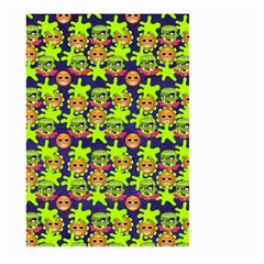 Smiley Monster Large Garden Flag (two Sides) by BangZart