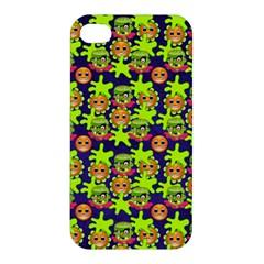 Smiley Monster Apple Iphone 4/4s Premium Hardshell Case by BangZart