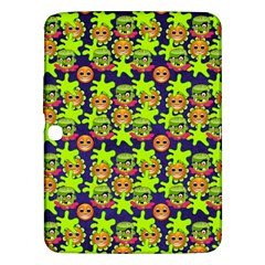 Smiley Monster Samsung Galaxy Tab 3 (10 1 ) P5200 Hardshell Case  by BangZart