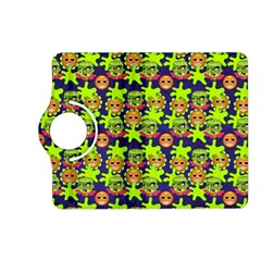 Smiley Monster Kindle Fire Hd (2013) Flip 360 Case by BangZart