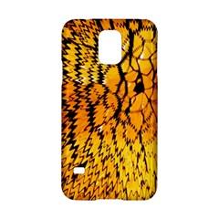Yellow Chevron Zigzag Pattern Samsung Galaxy S5 Hardshell Case  by BangZart