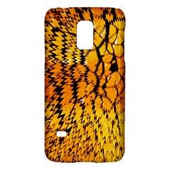 Yellow Chevron Zigzag Pattern Galaxy S5 Mini by BangZart