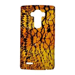 Yellow Chevron Zigzag Pattern Lg G4 Hardshell Case by BangZart